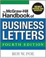 [중고] McGraw-Hill Handbook of Business Letters (Paperback)