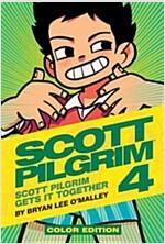 Scott Pilgrim Color Hardcover Volume 4: Scott Pilgrim Gets It Together (Hardcover)