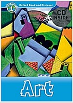 Oxford Read and Discover: Level 1: Art Audio CD Pack (Package)