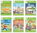 Oxford Reading Tree Workbook : Stage 2 Stories (Workbook6권 + 스티커 7장)