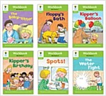 Oxford Reading Tree Workbook : Stage 2 More Stories Pack A (Workbook6권 + 스티커 7장)