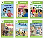 Oxford Reading Tree Workbook : Stage 2 Patterned Stories (Workbook6권 + 스티커 7장)