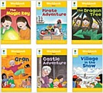 Oxford Reading Tree Workbook : Stage 5 Stories (Workbook6권 + 스티커 7장)