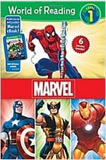 World of Reading Marvel Boxed Set: Level 1 - Purchase Includes Marvel eBook! (Boxed Set)