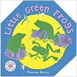 [중고] Little Green Frogs (Pop-up, Hardcover)
