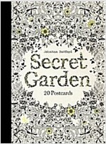 Secret Garden: 20 Postcards (Postcard Book/Pack)