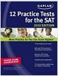[중고] Kaplan 12 Practice Tests for the SAT 2010 (Paperback)