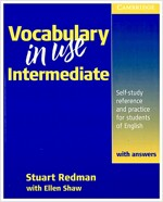 [중고] Vocabulary in Use Intermediate with Answers : Self-Study Reference and Practice for Students of North American English (Paperback)
