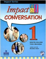 Impact Conversation Level 1 Student Book W/CD (Paperback)