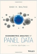 Econometric Analysis of Panel (Paperback, 5)