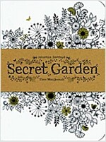 Secret Garden : Three Mini Journals (Paperback)