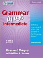 [중고] Grammar in Use Intermediate Student's Book with Answers and CD-ROM : Self-study Reference and Practice for Students of North American English (Package, 3 Revised edition)