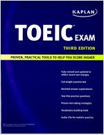 Kaplan TOEIC Exam (Paperback, Compact Disc, 3rd)