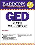 GED Math Workbook (Paperback, 3rd)