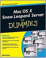 Mac OS X Snow Leopard Server for Dummies (Paperback)