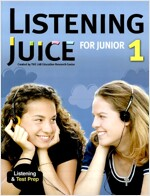 Listening Juice for Junior 1 : Student Book (Paperback, with Script & Answer Key)