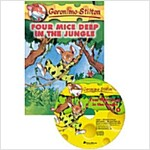 [중고] Geronimo Stilton #5: Four Mice Deep in the Jungle (Book + CD 1장)