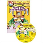 [중고] Geronimo Stilton #6: Paws Off, Cheddarface! (Book + CD 1장)