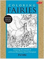 Coloring Fairies: Featuring the Artwork of Celebrated Illustrator Niroot Puttapipat (Paperback)