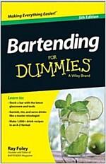 Bartending for Dummies (Paperback, 5, Revised)