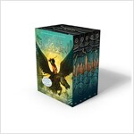 Percy Jackson and the Olympians 5 Book Paperback Boxed Set (New Covers W/Poster) (Paperback)