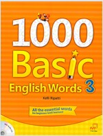 1000 Basic English Words 3 (Paperback + Audio CD)