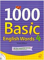 1000 Basic English Words 4 (Paperback + Audio CD)
