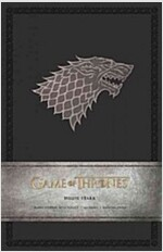 Game of Thrones: House Stark Hardcover Ruled Journal (Imitation Leather)