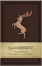 Game of Thrones: House Baratheon Hardcover Ruled Journal (Imitation Leather)