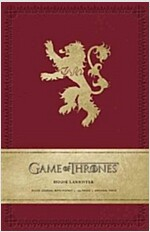 Game of Thrones: House Lannister Hardcover Ruled Journal (Imitation Leather)