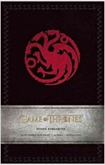 Game of Thrones: House Targaryen Hardcover Ruled Journal (Imitation Leather)
