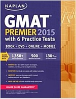 Kaplan GMAT Premier with 6 Practice Tests [With CDROM] (Paperback, 2015)