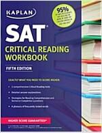 Kaplan SAT Critical Reading Workbook (Paperback, 5)