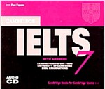 Cambridge IELTS 7 Audio CDs (2) : Examination Papers from University of Cambridge ESOL Examinations (CD-Audio)