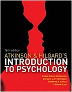 Atkinson & Hilgard's Introduction to Psychology (Package, 16 Rev ed)