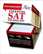 Essential SAT Vocabulary (Flashcards): 500 Flashcards with Need-To-Know SAT Words, Definitions, and Terms in Context (Hardcover)