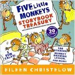 [중고] Five Little Monkeys Storybook Treasury (Hardcover)