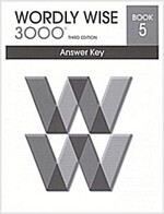 Wordly Wise 3000: Book 5 (Answer Key, 3rd Edition)