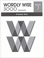 Wordly Wise 3000: Book 7 (Answer Key, 3rd Edition)
