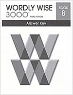 Wordly Wise 3000: Book 8 (Answer Key, 3rd Edition)