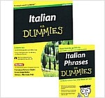 Italian Phrases for Dummies & Italian for Dummies, 2nd Edition with CD Set (Paperback, Revised)