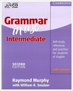 [중고] Grammar in Use Intermediate With Answers, Korean Edition (Paperback, 2nd)
