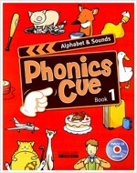 Phonics Cue 1 : Alphabet & Sounds (Student Book + CD 1장)