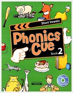 Phonics Cue 2 : Short Vowels (Student Book + CD 1장)