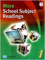 More School Subject Readings 1 (Paperback + CD 1장)