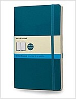 Moleskine Classic Large Dotted Notebook: Underwater Blue (Paperback)