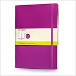 Moleskine Classic Extra Large Plain Notebook: Orchid Purple (Paperback)