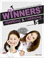 Winners' Speaking & Listening 5 (책 + CD 3장)