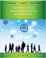 Business Data Communications and Networking (Paperback, 12, Revised)