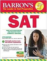 Barron's SAT (Paperback, 27)